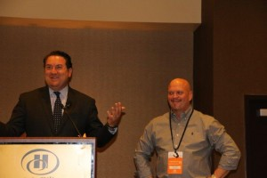 AZ Attorney General Mark Brnovich and ASBA CEO David Gergen at the Sleep and Wellness Conference 2017