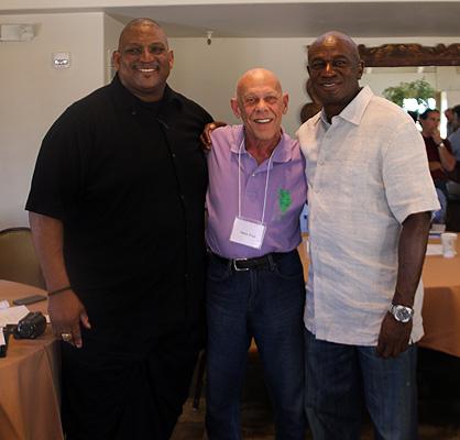 Derek Kennard, Dr. Harry Sugg, and Roy Green Derek Kennard, Dr. Harry Sugg, and Roy Green