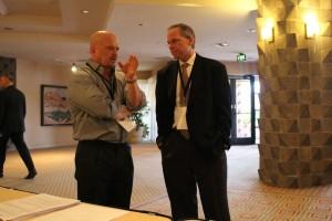 David Gergen and Rod Willey