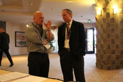 David Gergen and Dr. Rod Willey
