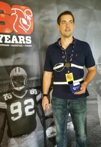 Nox T3 by Carefusion medical grade sleep bruxism monitor Derrik Frost former NFL Punter