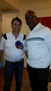 Dr Bradley Eli and Eric Dickerson