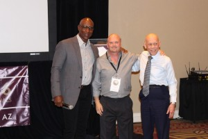 Eric Dickerson David Gergen and Harry Sugg