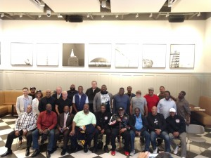 Los Angeles NFLPA Chapter Meeting, Photo of Group Attendance