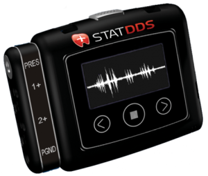 The STATDDS™ Bruxism and Sleep Monitor can be used by patients for overnight home testing