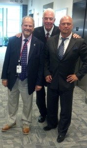 david gergen and congressman marty russo with dr alpher