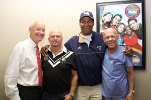 Dr. Archie Roberts-Founder Living Heart Foundation, David Gergen-CEO ASBA, Isiah Robertson-NFL HOF Linebacker, Dr. Harry Sugg-ASBA Diplomate